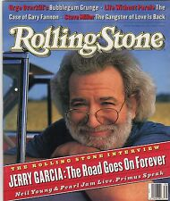 jerry garcia the road goes on forever neil young  Rolling Stone Magazine