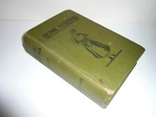 HOME NURSING & ALIMENTS OF CHILDREN A HANDBOOK FOR MOTHERS DATED 1912 AUSTRALIA