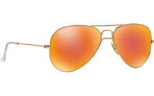 Ray Ban Sonnenbrillen AVIATOR Flash Lenses RB 3025 112/69 Neu OVP Etui UVP 179€