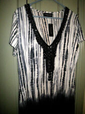 Tunic Regular Size Stretch Tops for Women