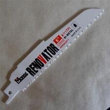 "MK MORSE Renovator Reciprocating Saw Blade 6""-150mm 8-11 TPI Free AUSTRALIA Post"
