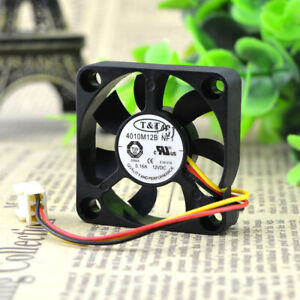 T&T 4010M12B NF1 4010 12V 0.16A 4cm 3-pin double ball fan