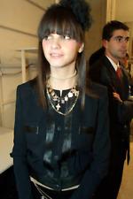 Chanel 2002 SS Piste Laine Noire Veste de smoking manteau CC Boutons FR38 UK 8 10