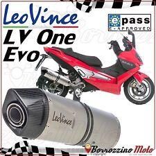 TERMINALE SCARICO MARMITTA LEOVINCE LV ONE EVO INOX GILERA 500 NEXUS 2003-2012