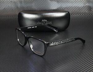 COACH HC6068 5002 Black Demo Lens 54 mm Women's Eyeglasses