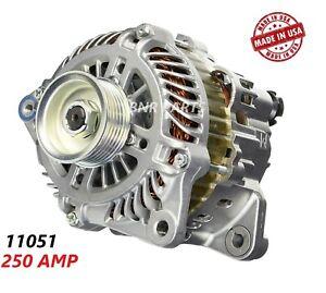250 AMP 11051 Alternator fits Nissan Infiniti High Output Performance HD USA NEW