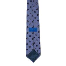 Paul Smith Mens Tie Made in England 100% Silk Modern Geometric Pattern Necktie