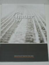 HAUER Kommunalwirtschaft, Schneepflüge, Winterdienststreuer Prospekt ( 726 )
