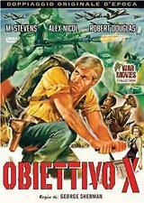 OBIETTIVO X  DVD GUERRA
