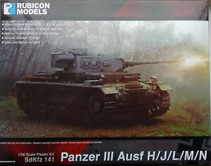 Rubicon 1/56 (28mm)  RB280092 Panzer III Ausf H/J/L/M/N Medium Tank Model Kit