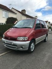 Nissan Serena 2.3L Diesel Occasion 8 Seater MPV 5 Door Manual Red 1999 T Reg