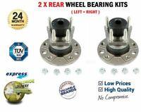 2x Rear WHEEL BEARINGS for OPEL ASTRA G Saloon 1.6 16V F69 1998-2005