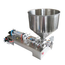 Semi-automatic Filling Machine for Cream Honey Sauce Tooth Paste 100-1000ML