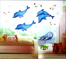 Sea life/ Dolphin Decals Kids/ Baby Sticker Art