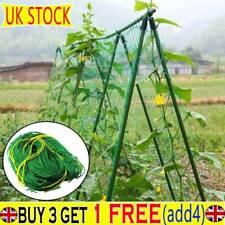 Nylon Garden Netting Pea Bean Netting Plant Support Climbing Net Trellis Mesh YN