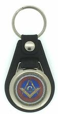 New Collectable Masonic Square Compass Key Ring