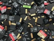 Lot of 100 Mixed Brand 16GB Micro SD Memory Cards