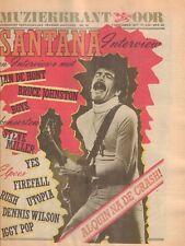 MAGAZINE OOR 1977 nr. 18 -SANTANA/BOYS/BRUCE JOHNSON/ALQUIN/CAROLINE BAYER SAGER