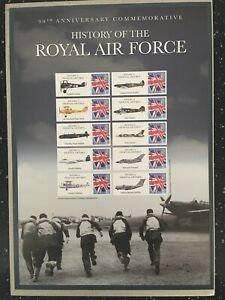 90TH ANNIVERSARY COMMEMORATING THE HISTORY OF THE ROYAL AIR FORCE.  HARD TO FIND