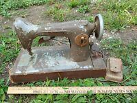 Free Westinghouse Antique Cast Metal Sewing Machine 1172254A Parts Wood Base