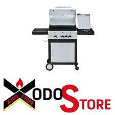 Barbecue a gas in acciaio inox SUNDAY MCZ modello MONTANA 3 - occasione BBQ