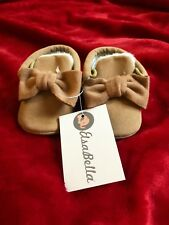 baby girl shoes 0-6 months Cute Camel Color