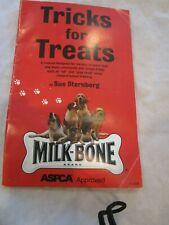 Vintage 2000 Milk Bone Brand Tricks or Treats Manual For Dog Owners Basic Comman