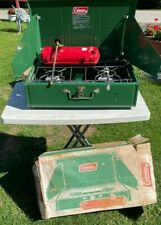 New listing COLEMAN TWO BURNER CAMPING CAMP STOVE 413G