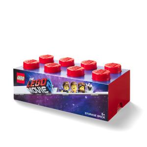 LEGO® 40041761 LEGO Movie 2, Aufbewahrungsbox mit 8 Noppen, rot