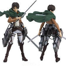 Eren Yeager Shingeki No Kyojin Figma Attack on TITAN Action Figure Anime Q