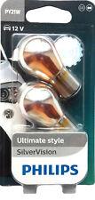 Philips Silvervision Bombilla Intermitente Plata Sellador 31117730 12v 21w