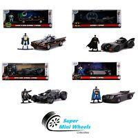 Jada 1:32 Hollywood Rides - Batmobile with Batman Figure - 4 Style You Choose