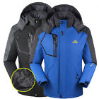 Men New Waterproof Windproof Warm Shell Fleece Coat Ski Snowboard Outdoor Jacket