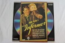 The Informer (Laserdisc) Victor Mclaglen Release Date 1935 Black and White Movie