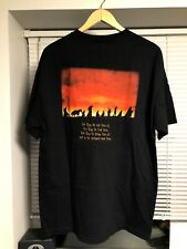 """The Lord Of The Rings """"The Fellowship Of The Ring"""" Men's XL Black Promo T-Shirt"""