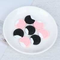 8Pcs 1/6 1/12 Miniature food mini biscuits model for dollhouse kitchen toys ANE