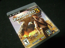 Uncharted 3: Drake's Deception (Sony PlayStation 3, 2011) *PRE-OWNED*