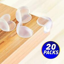 20 Pcs Clear Baby Safety Table Desk Edge Corner Cushion Guard Bumper Protector
