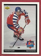 1992-93 Upper Deck McDonald's NHL All-Stars - #7 - Theoren Fleury - Flames