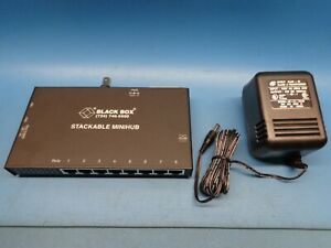 LE2801A-BNC Stackable Mini Hub 10Base-T 10Base-2 Ethernet 8 Port w BNC connector