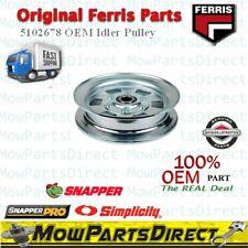 Ferris Snapper Pro Original Oem Deck Idler Pulley 5102678 fits most IS Models