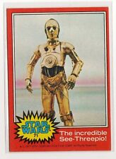 1977 Star Wars Series 2 red Single Card #71 NM straight from a wax Pack