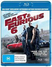 Fast & Furious 6 (Blu-ray, 2013)
