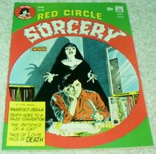 Red Circle Sorcery 6, NM- (9.2) Sexy Female Vampire cover! 40% off Guide!