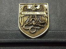 Pin WARSCHAU 1944 Reichsadler EK - 3,5 x 2,5 cm