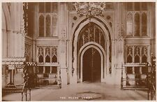 Postcard - London - Houses of Parliament - The Piers' Lobby