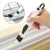 Window Groove Cleaning Brush Keyboard Gap Tool Track Cleaner 2 in 1