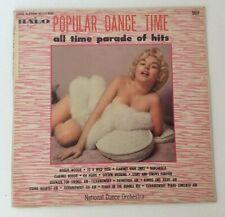 Popular Dance Time 1957 Risqué Mid Century Display Pinup Halo 5010 Vinyl Record