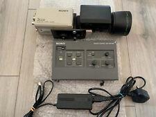 DXC-930 Sony 3 CCD Couleur Caméra Vidéo & FUJINON LENS & Remote Unit RM-930