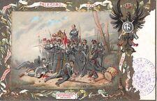 ITALY -  Early Italian Military Art Postcard